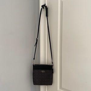 Coach crossbody purse.
